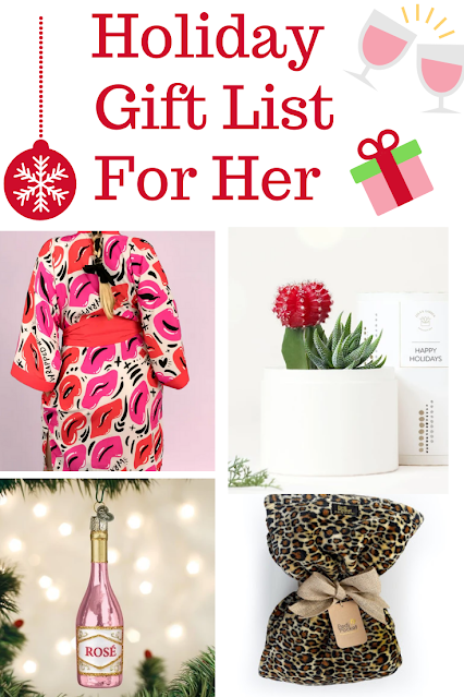 Holiday Gift List for Her