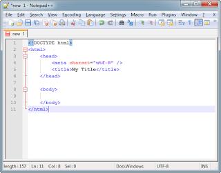 Text editor html