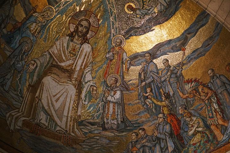 Sacré-Cœur Basilica Dome Painting