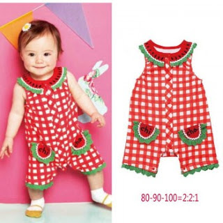 Model Baju Bayi Perempuan jumper