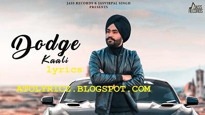 Harman Lahoria - Dodge Kaali Lyrics