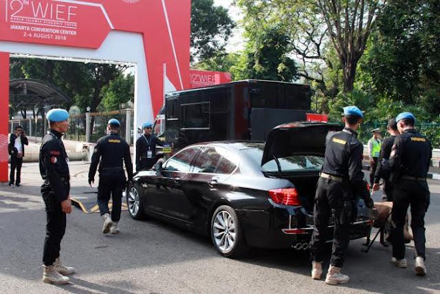 TNI Amankan Jalannya Sidang KTT WIEF ke-12 di Jakarta