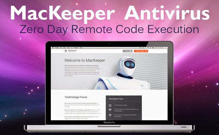 MacKeeper Zero Day Remote Code Execution Vulnerability