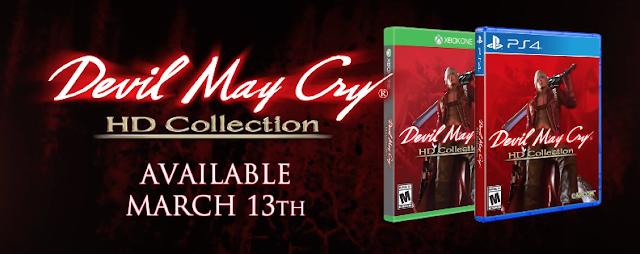 Anunciado Devil May Cry HD Collection para PS4 y Xbox One