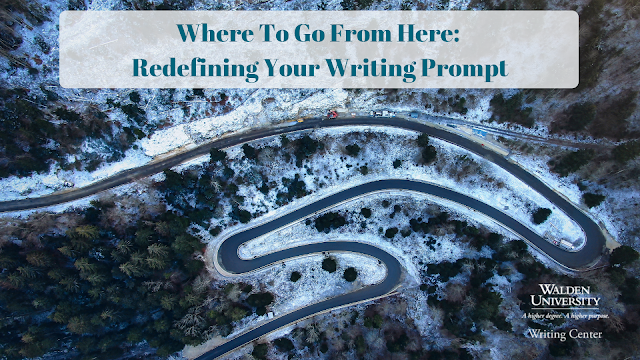 Where to go from here: redefining your writing prompt