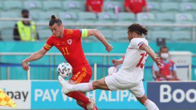 موعد مباراة منتخب سويسرا ومنخب ويلز في الجوله الاولي من يورو 2021