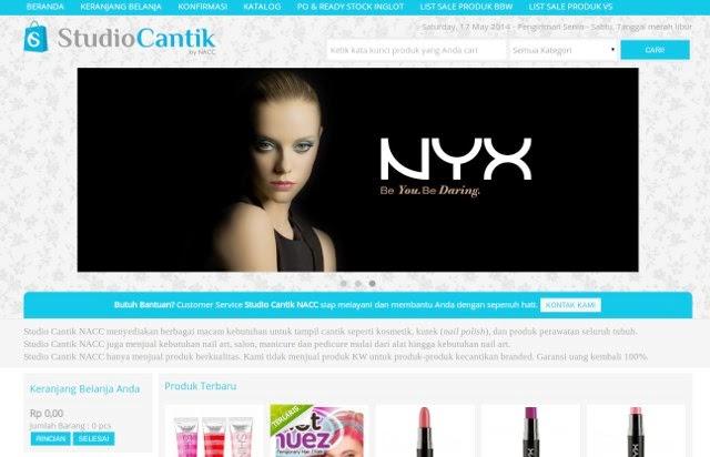 toko online kecantikan studiocantik