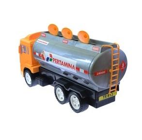 truk tangki pertamina miniatur