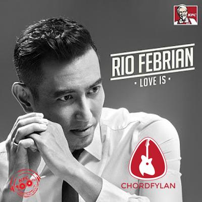 Lirik dan chord Memang Harus Terpisah - Rio Febrian