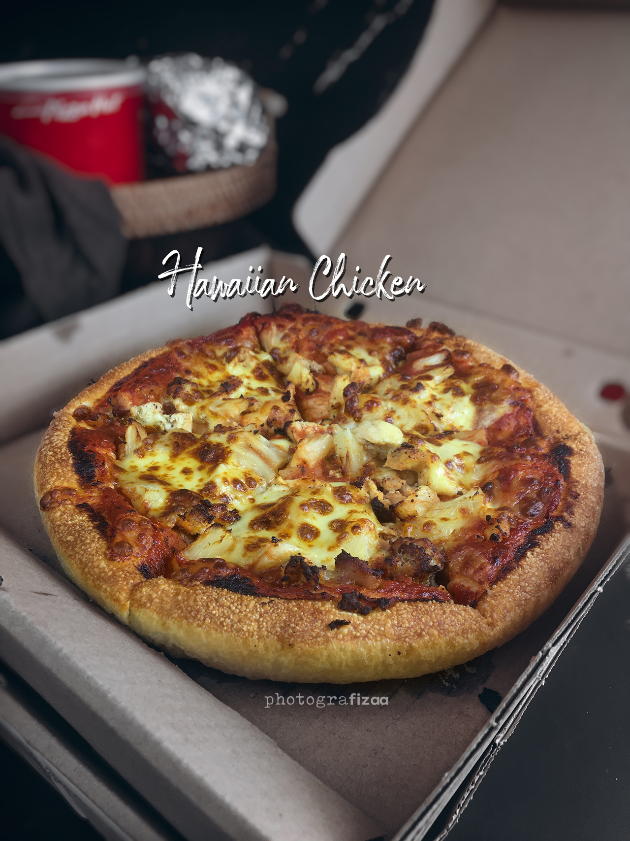 Hawaiian Chicken Pizza Hut