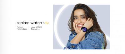 فيديو تشويقي يكشف تفاصيل عن ساعة ريلمي واتش اس برو Realme Watch S Pro المرتقبة !