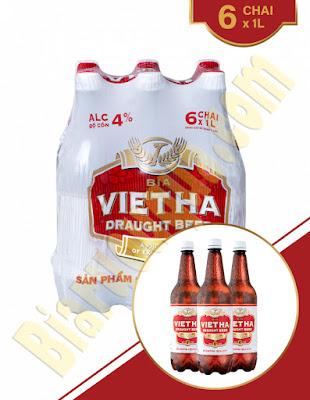 Log 6 chai bia Việt Hà