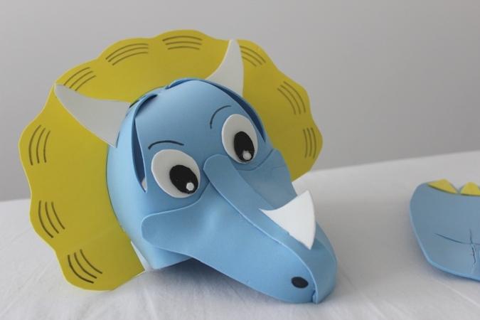 Tutorial gorra de goma eva para niños