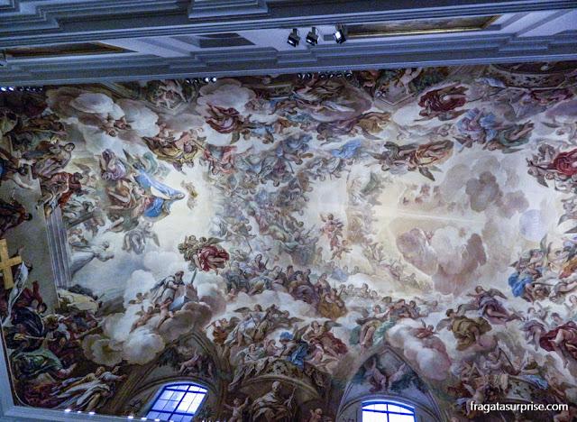 Forro da Sacristia da Catedral deToledo, pintado por Luca Giordano