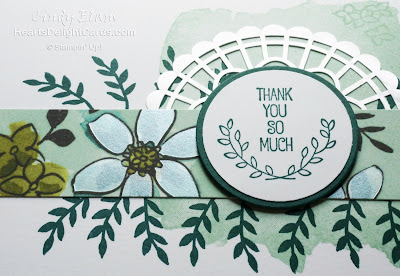 Heart's Delight Cards, Love What You Do, Share What You Love Suite, Thank you card, Stampin' Up!, 2018-2019 Annual Catalog,