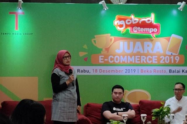 Ini juara e-commerce di Indonesia sepanjang tahun 2019