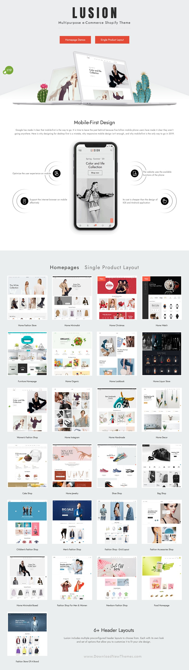 Multipurpose eCommerce Website Theme