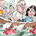 Even Gladys Berejiklian is fed up with PM, who she privately regards as 'evil' and a 'bully' (Cartoon)