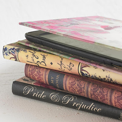Kindle Covers from Etsy Courtesy of Tomes and Tequila Blog