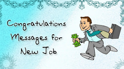 Congratulations Message On New Job