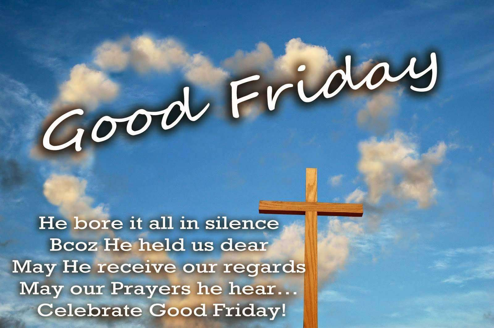 Good Friday Wishes Unique Image
