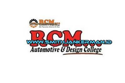 Lowongan RCM Automotive & Design College Pekanbaru Maret 2018