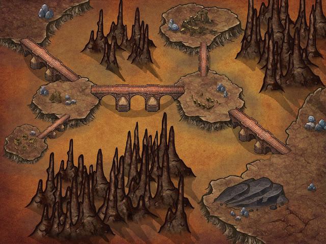 Aventura para Dungeons & Dragons - La Mentira de Malar - Caverna de Lava