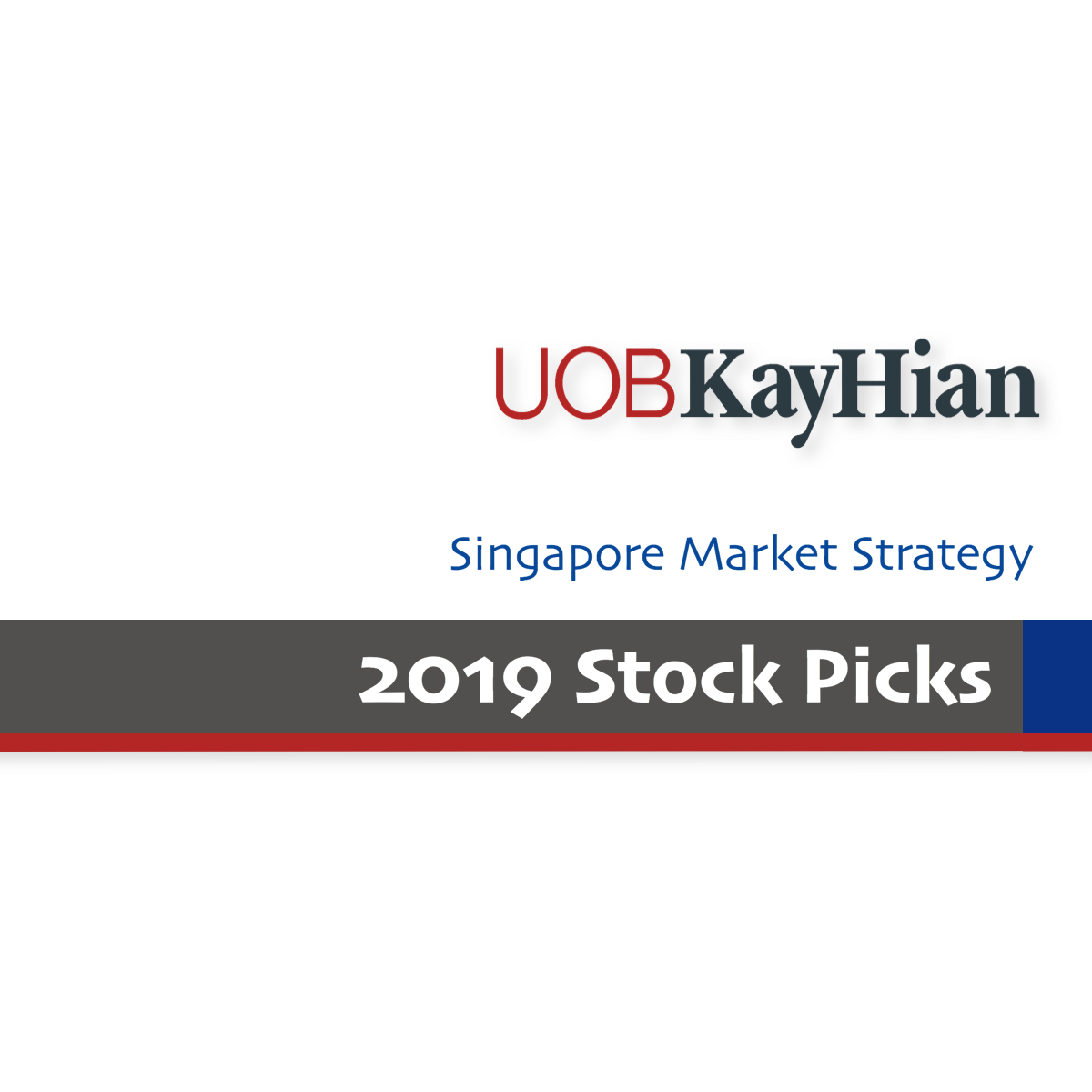 Singapore Stock Picks 2019 - UOB Kay Hian Research | SGinvestors.io