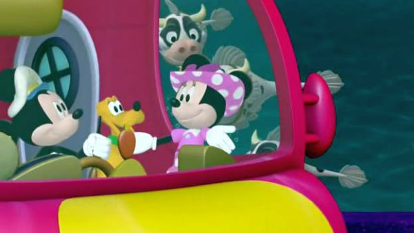 Sea Captain Mickey Mouse