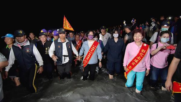 一生至少一次 萬人跟著彰化媽濁水溪潦溪回鑾