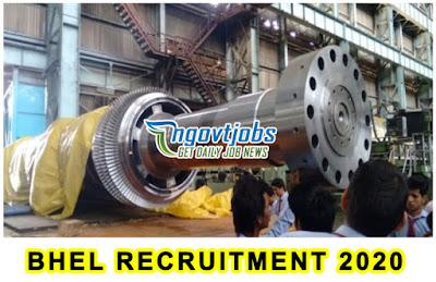 BHEL Recruitment 2020