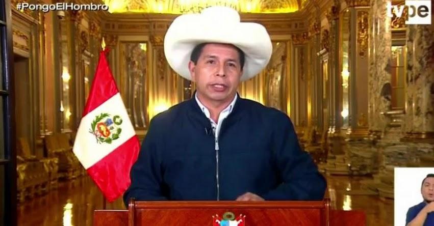 MENSAJE A LA NACIÓN: Presidente Castillo anuncia instalación de planta de producción de la vacuna Sputnik en el país