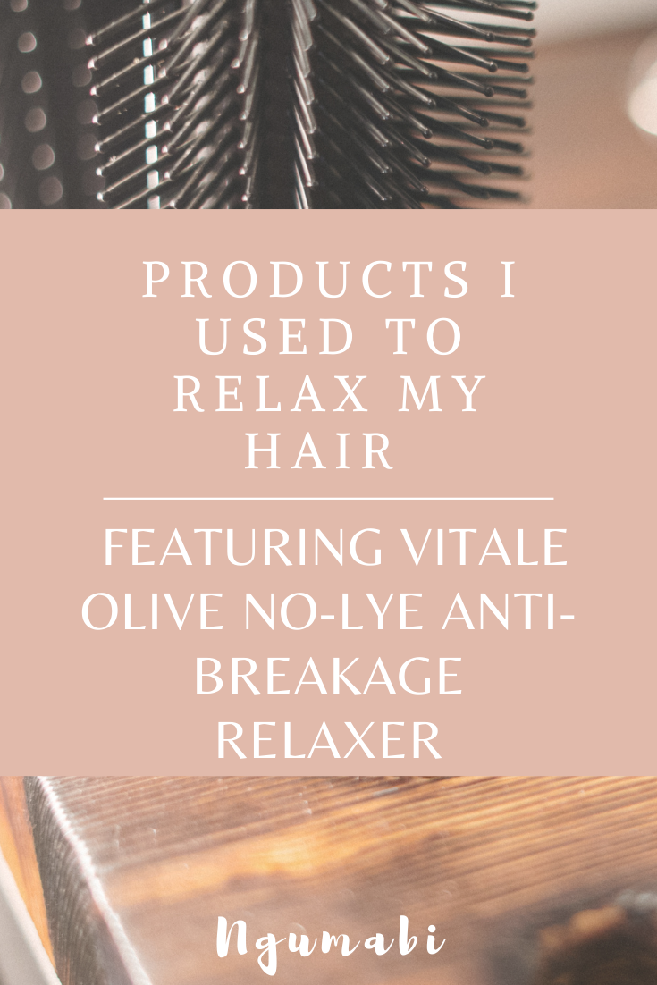Featuring Vitale Olive No-Lye Anti-Breakage Relaxer