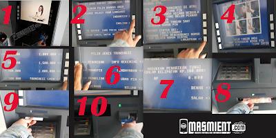 Cara Ambil Uang di ATM BRI