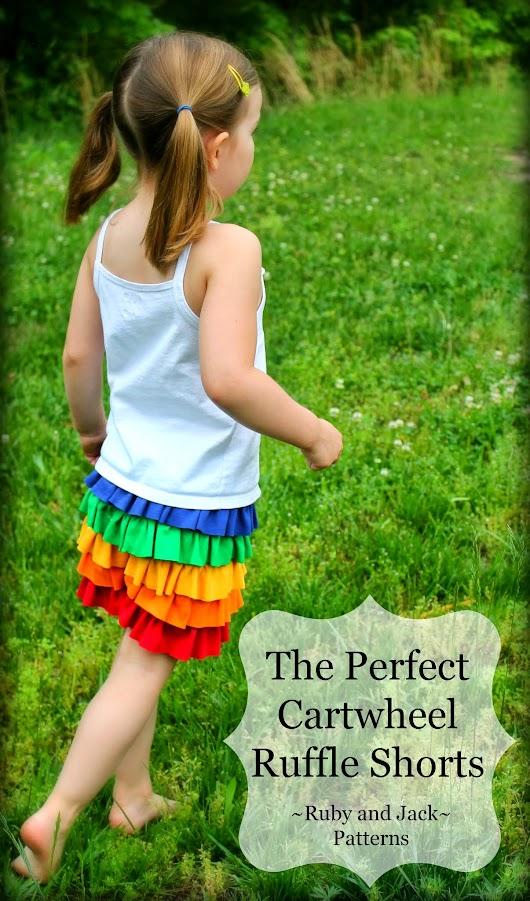A Preview: The Perfect Cartwheel Ruffle Shorts~~COMING SOON!