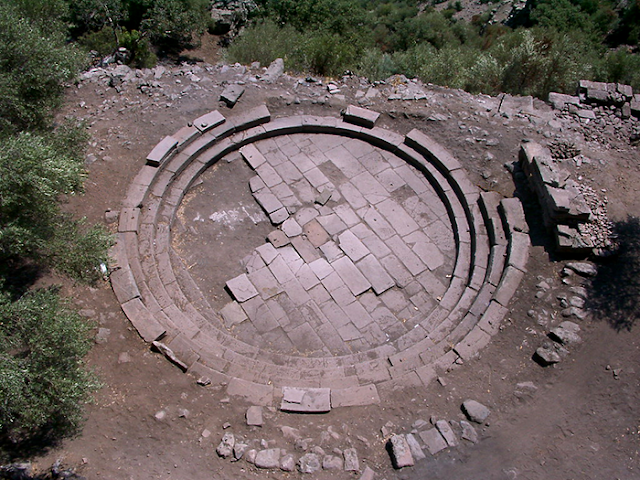 Meat and fish market unearthed in ancient Greek city of Aigai