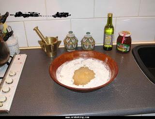 الشباكية المغربية سهلة مع الشرح بالصور