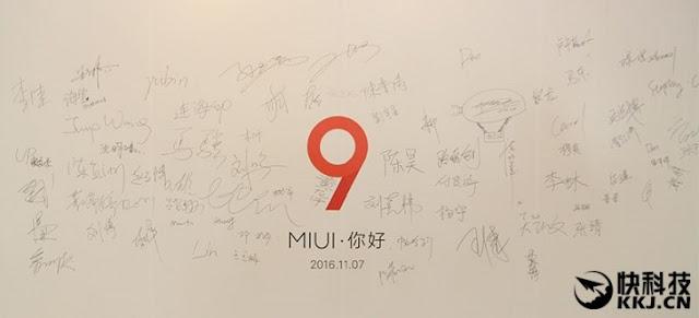 Xiaomi MIUI 9 update
