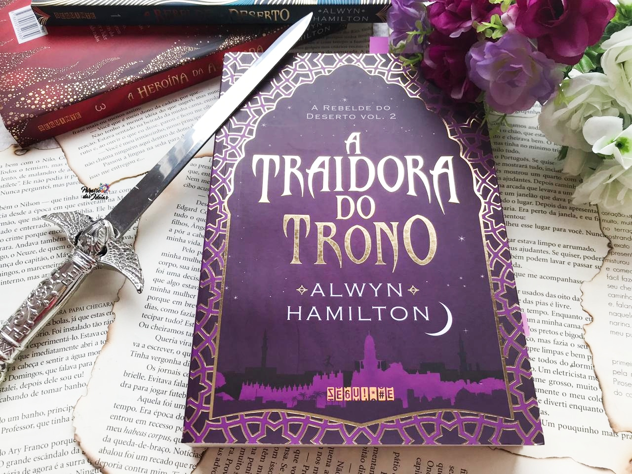 A Traidora do Trono #02 |  Alwyn Hamilton