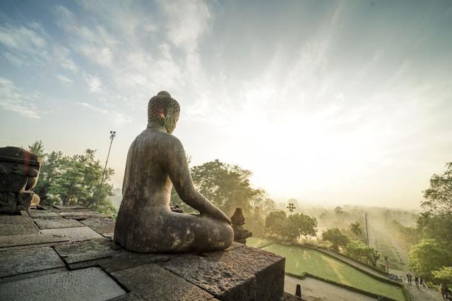buddhist in Borobudur