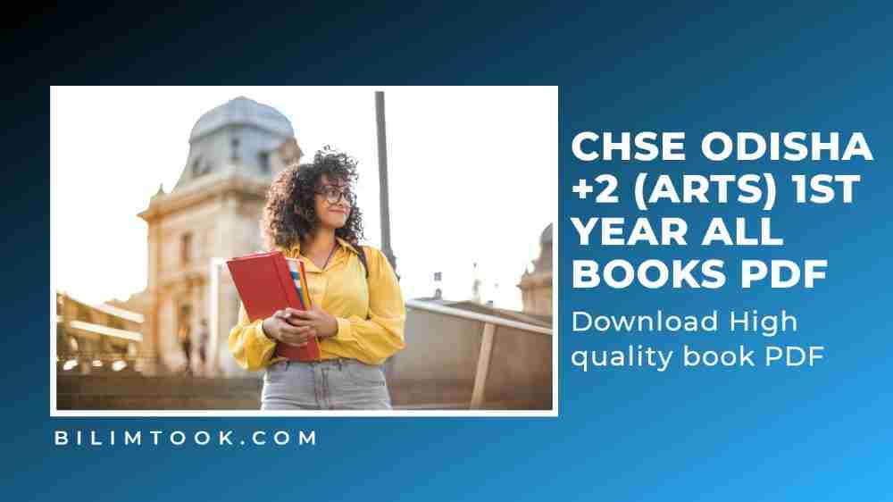 CHSE Odisha Plus Two 1st Year Arts All Books PDF Download