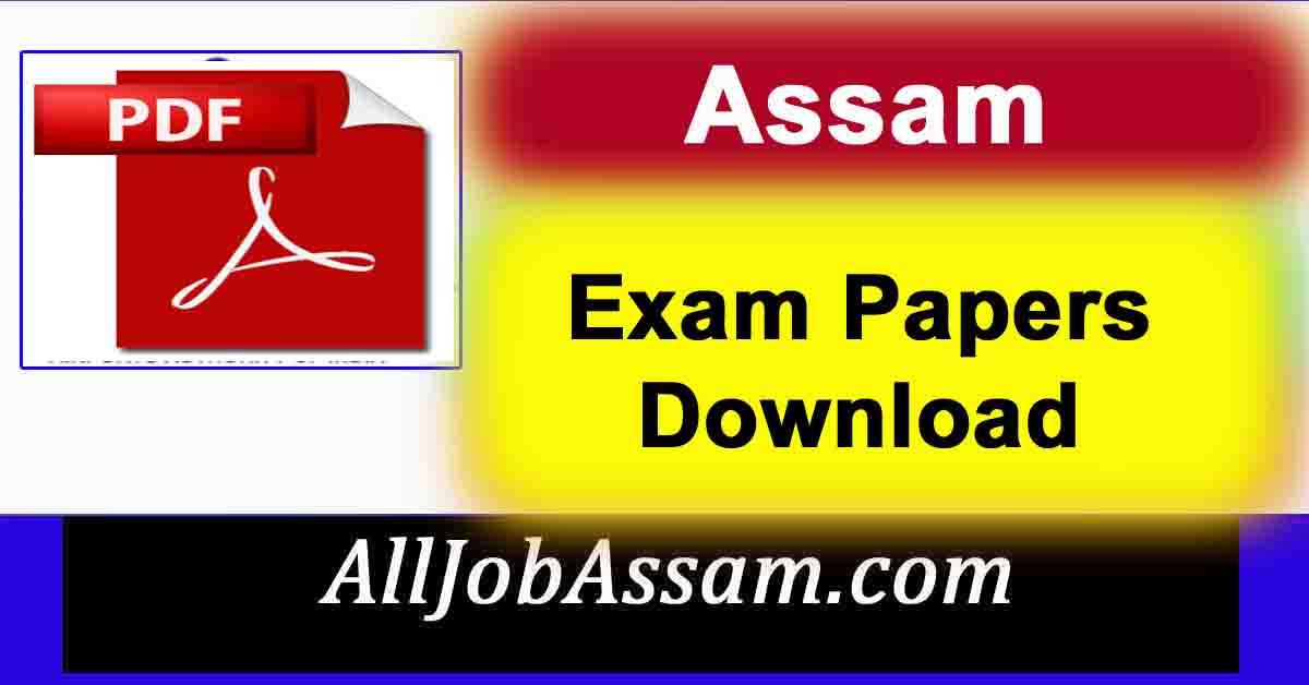 AAU Assam VLEW Question Paper