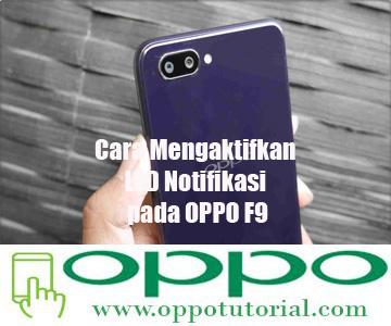 LED Notifikasi pada OPPO F9