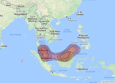 Satelit Measat 3 91.5°E KUBand
