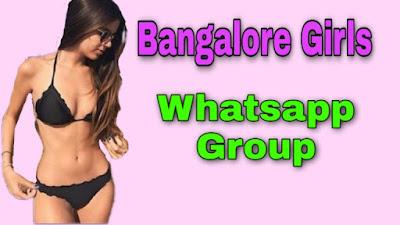 Bangalore Girls Whatsapp Group Link