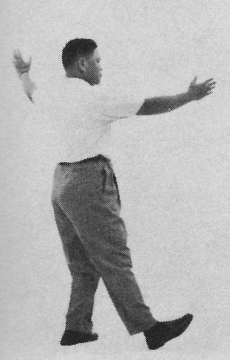 Tai Chi Chuan (Square Form) 58. Swing Fist