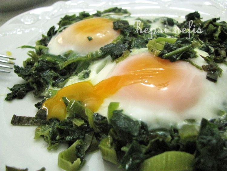 yumurtalı gelincik kavurması