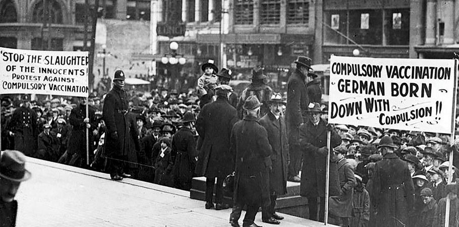 Η διστακτικότητα απέναντι στα εμβόλια δεν είναι κάτι νέο