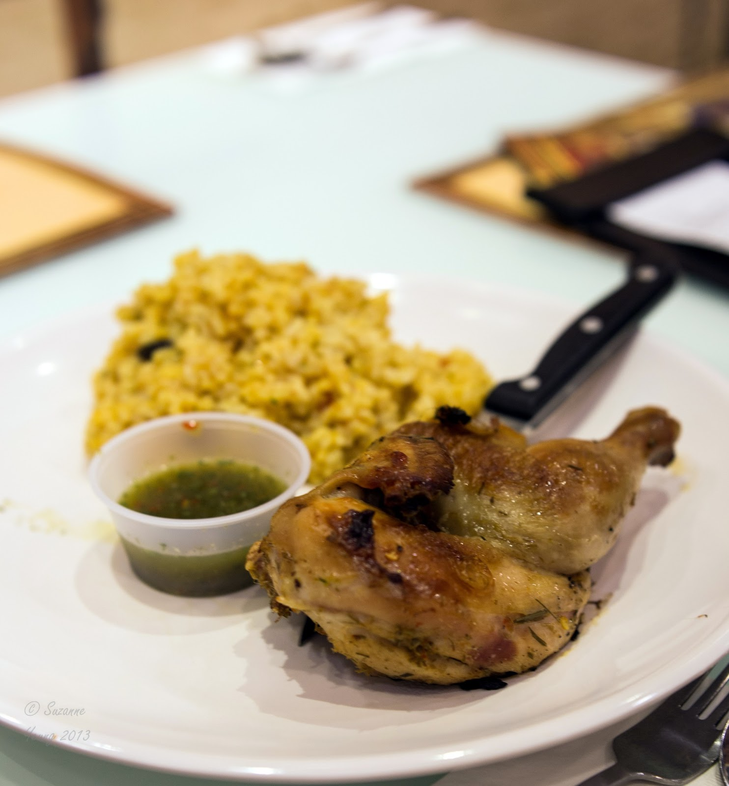 Squirrel's Blog: 油塘大本營的Riso Secreto餐廳