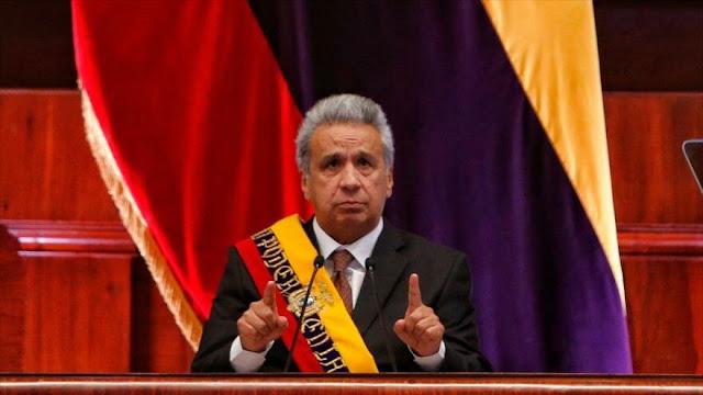 Líderes políticos de Ecuador critican medidas económicas de Moreno